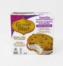 Coconut Bliss Coconut Bliss - Ice Cream Cookie Sandwich, Vanilla (155ml)