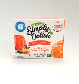 Simply Delish Simply Delish - Jel Dessert, Orange (20g)