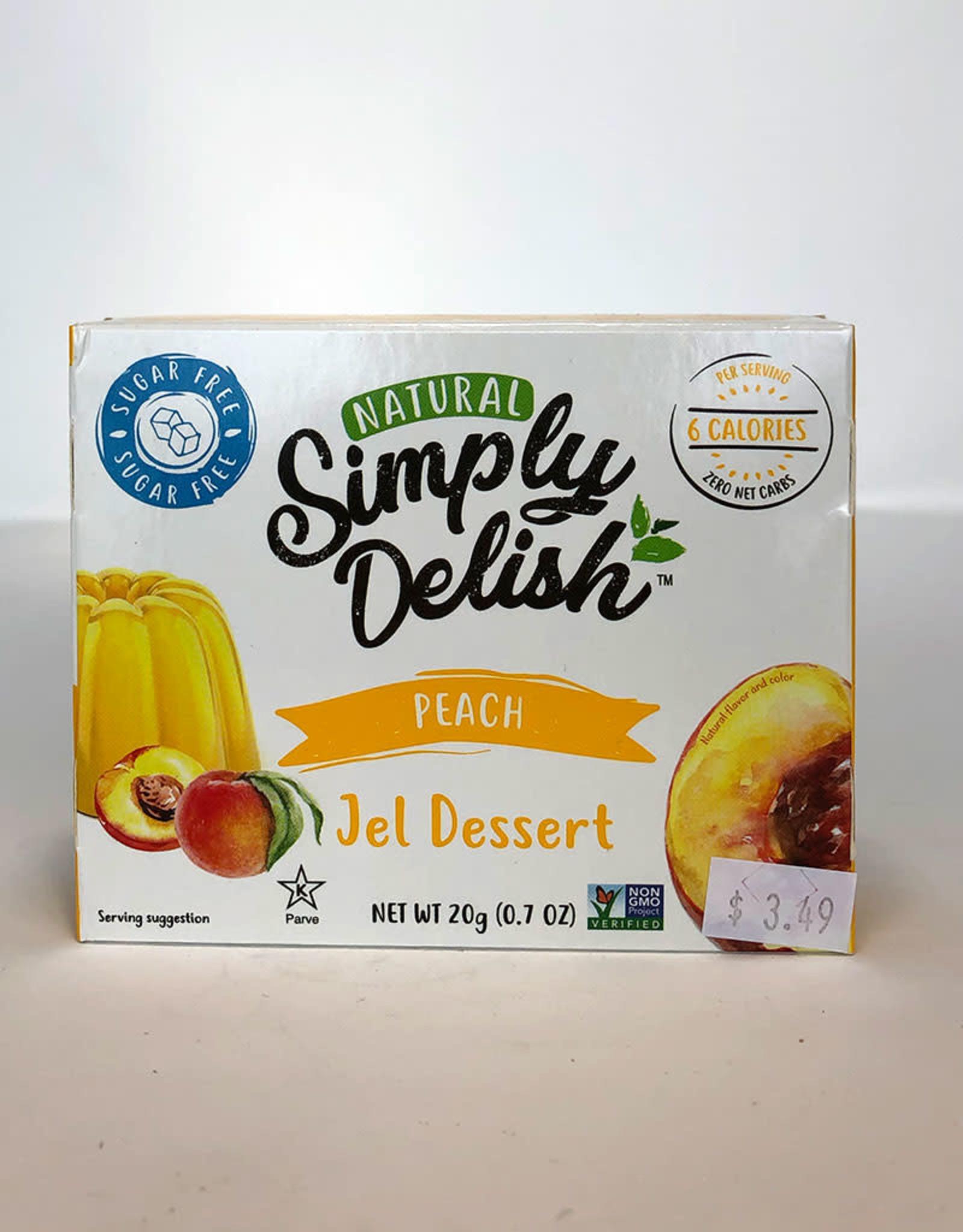 Simply Delish Simply Delish - Jell-O, Peach (20g)
