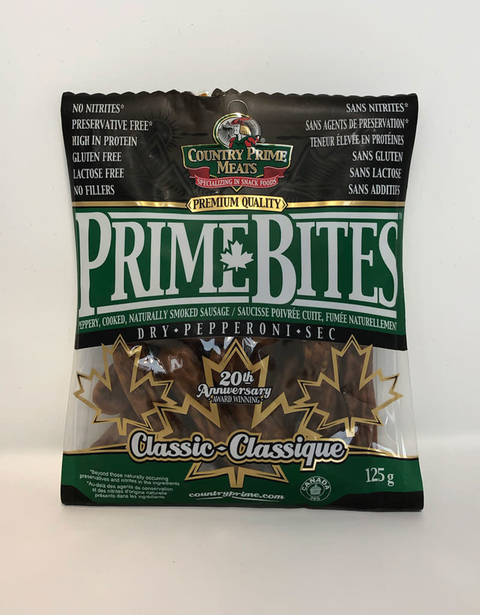 Country Prime Meats Country Prime Meats - Bites, Classic (125g)