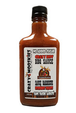 Crazy Mooskies Crazy Mooskies - No Sugar Added BBQ Sauce, Crazy Hot (375ml)