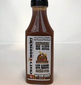 Crazy Mooskies Crazy Mooskies - No Sugar Added BBQ Sauce, SmokN Garlic (375ml)