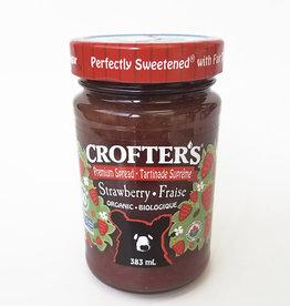 Crofters Organic Crofters Organic - Premium Fruit Spread, Strawberry (383ml)
