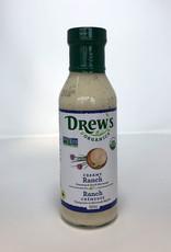 Drews Organics Drews - Organic Dressing, Creamy Ranch (360ml)