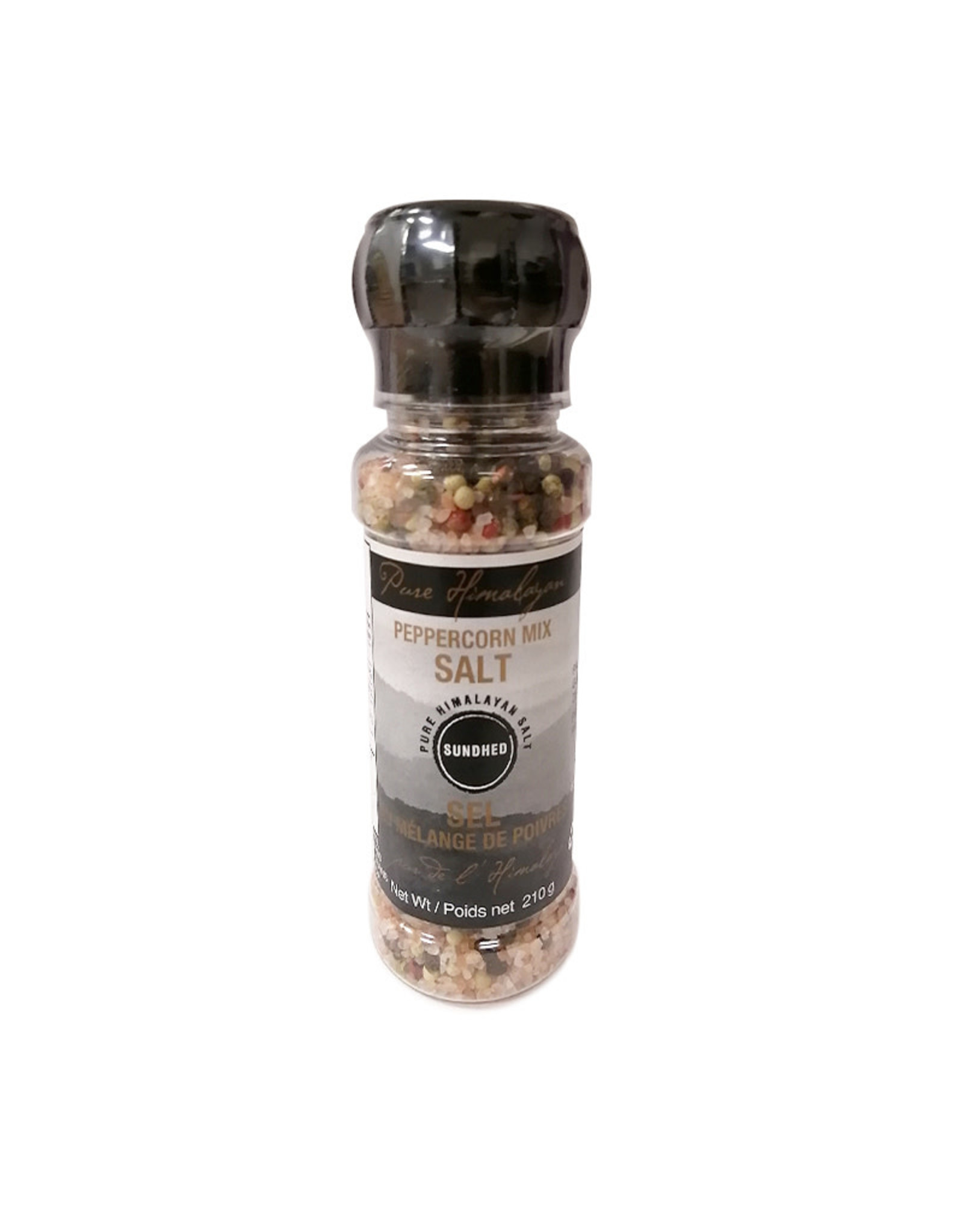 Sundhed Sundhed - Himalayan Salt, Peppercorn Mix with Gringer (210g)