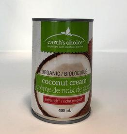 Earths Choice Earths Choice - Organic Coconut Cream (400ml)