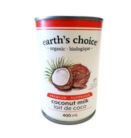 Earths Choice Earths Choice - Organic Coconut Milk (400ml)