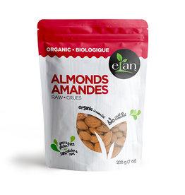 Elan Elan - Organic Raw Almonds (200g)