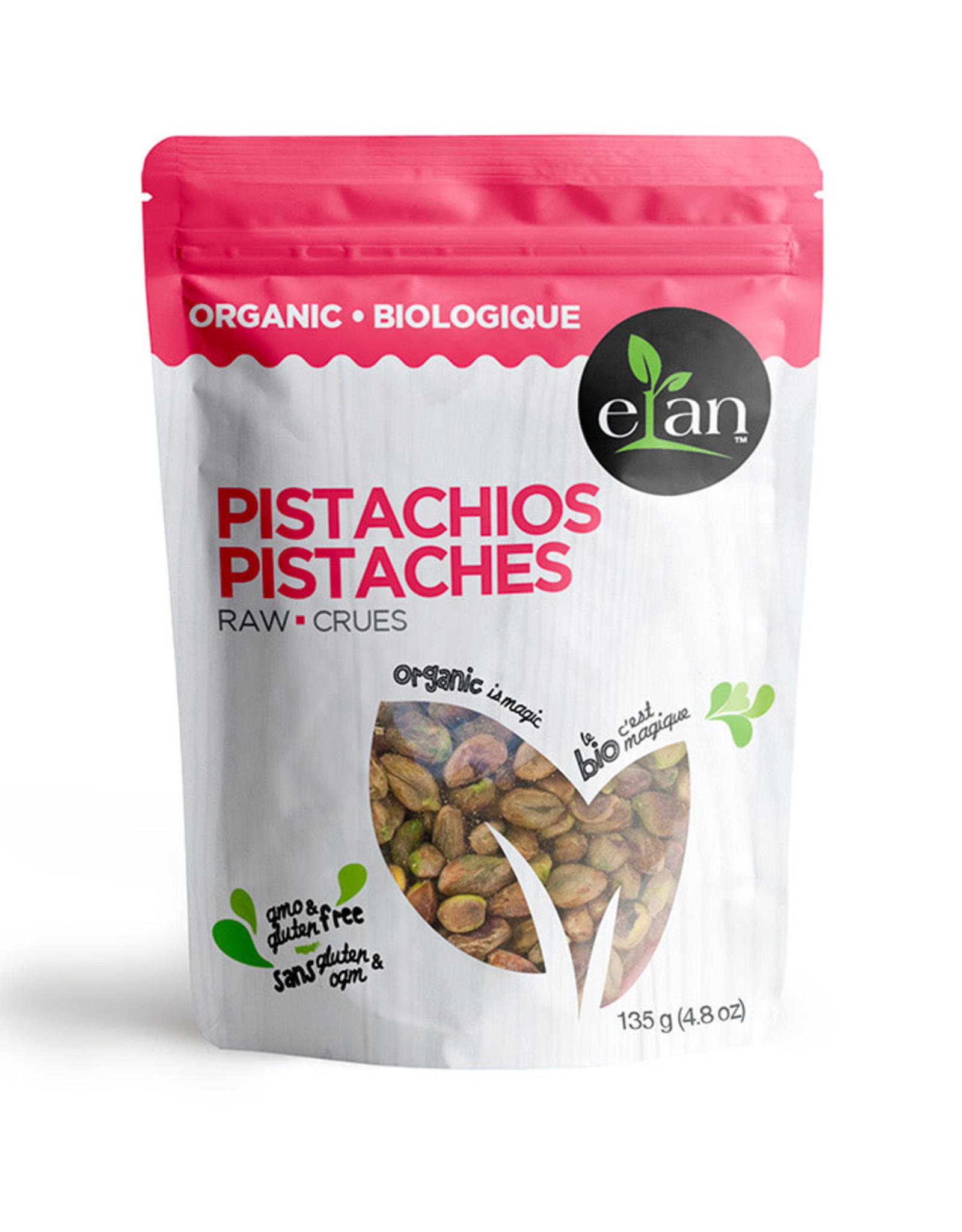 Elan Elan - Organic Raw Pistachios (135g)