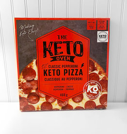 The Keto Oven The Keto Oven - Keto Pizza, Classic Pepperoni (460g)