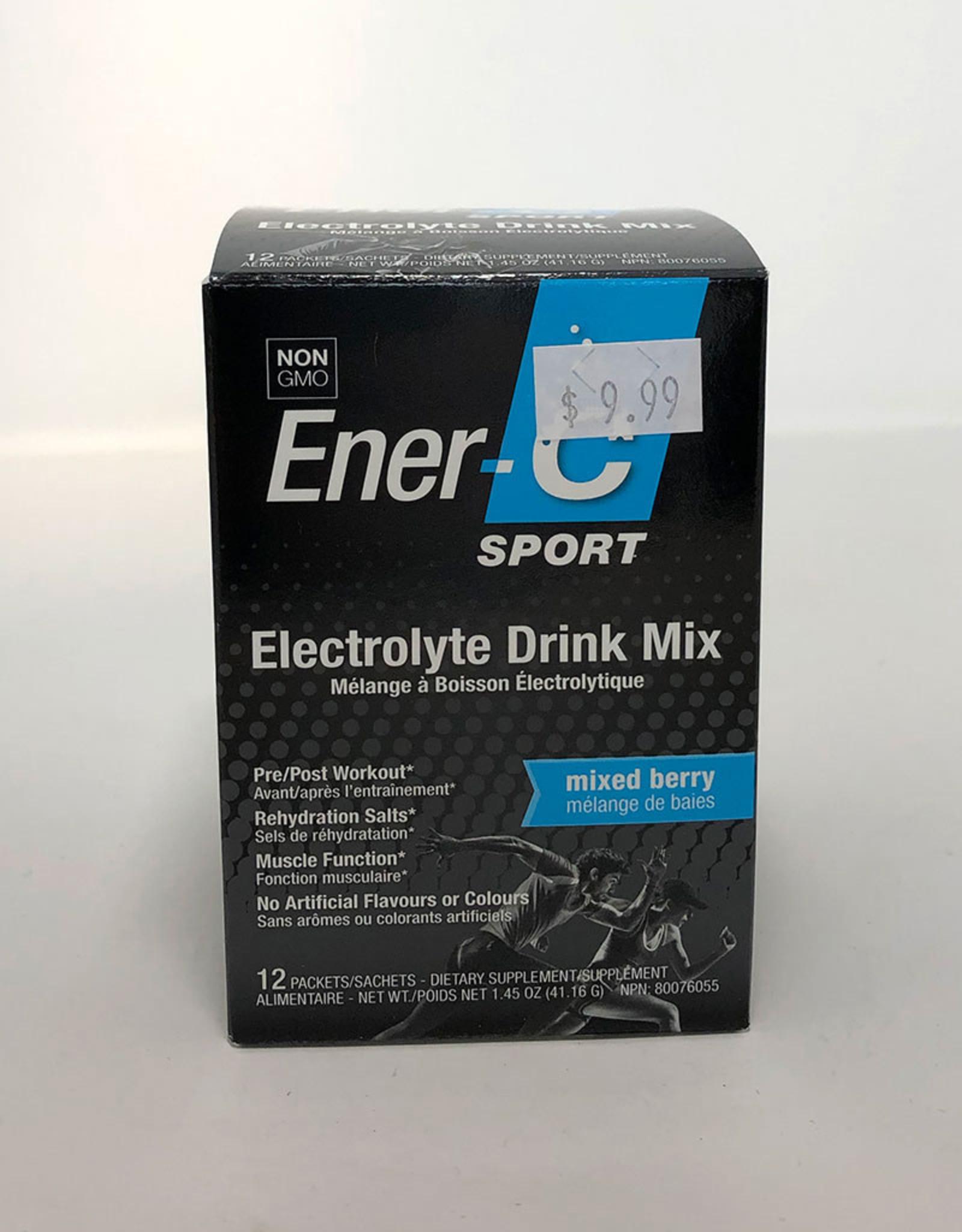 Ener-C Ener-C - Sport Electrolyte Drink Mix, Mixed Berry (12pk)