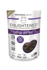Enlightened Enlightened - Roasted Broad Bean Crisps, Cocoa Dusted