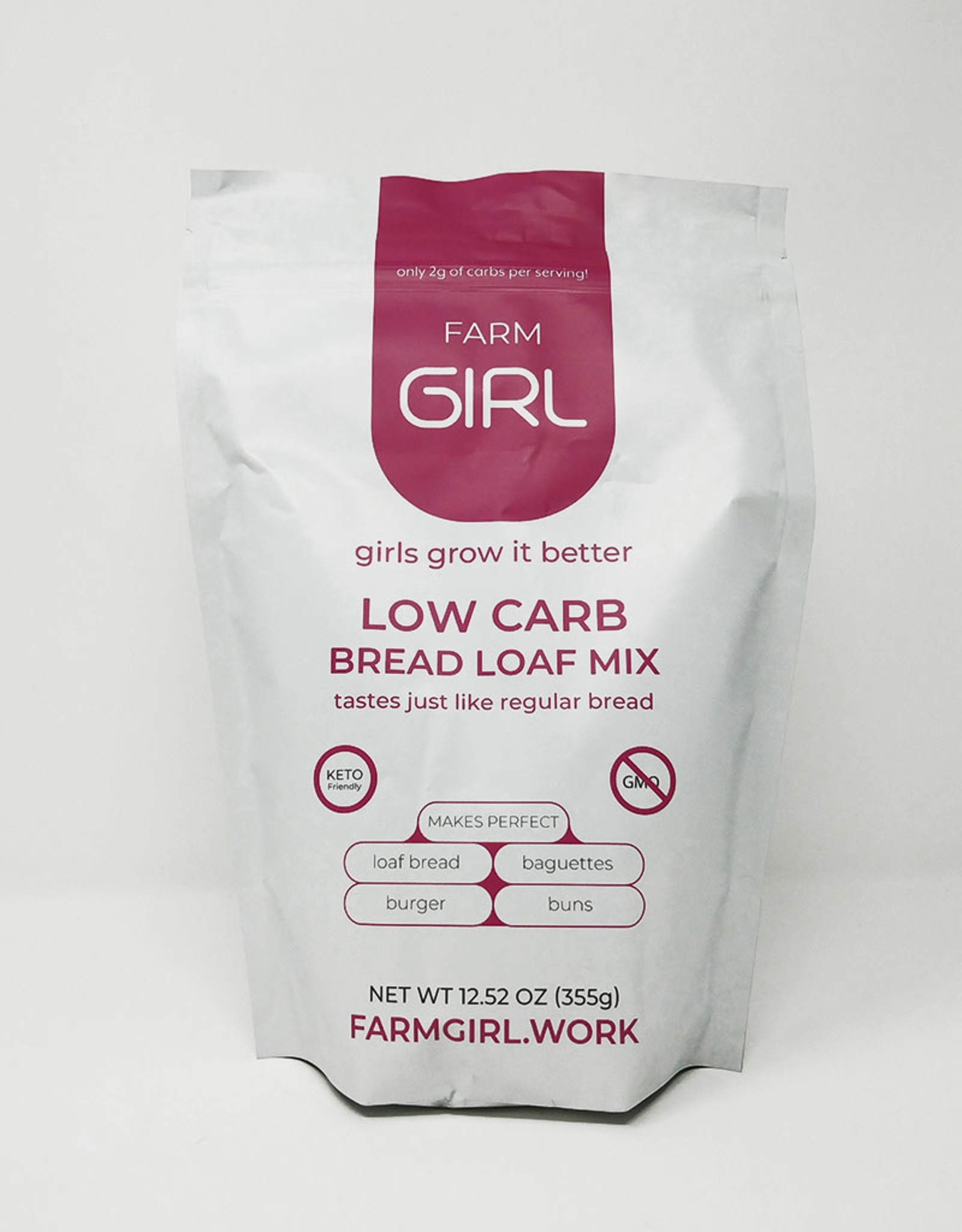 Farm Girl Farm Girl - Low Carb Bread Loaf Mix (355g)