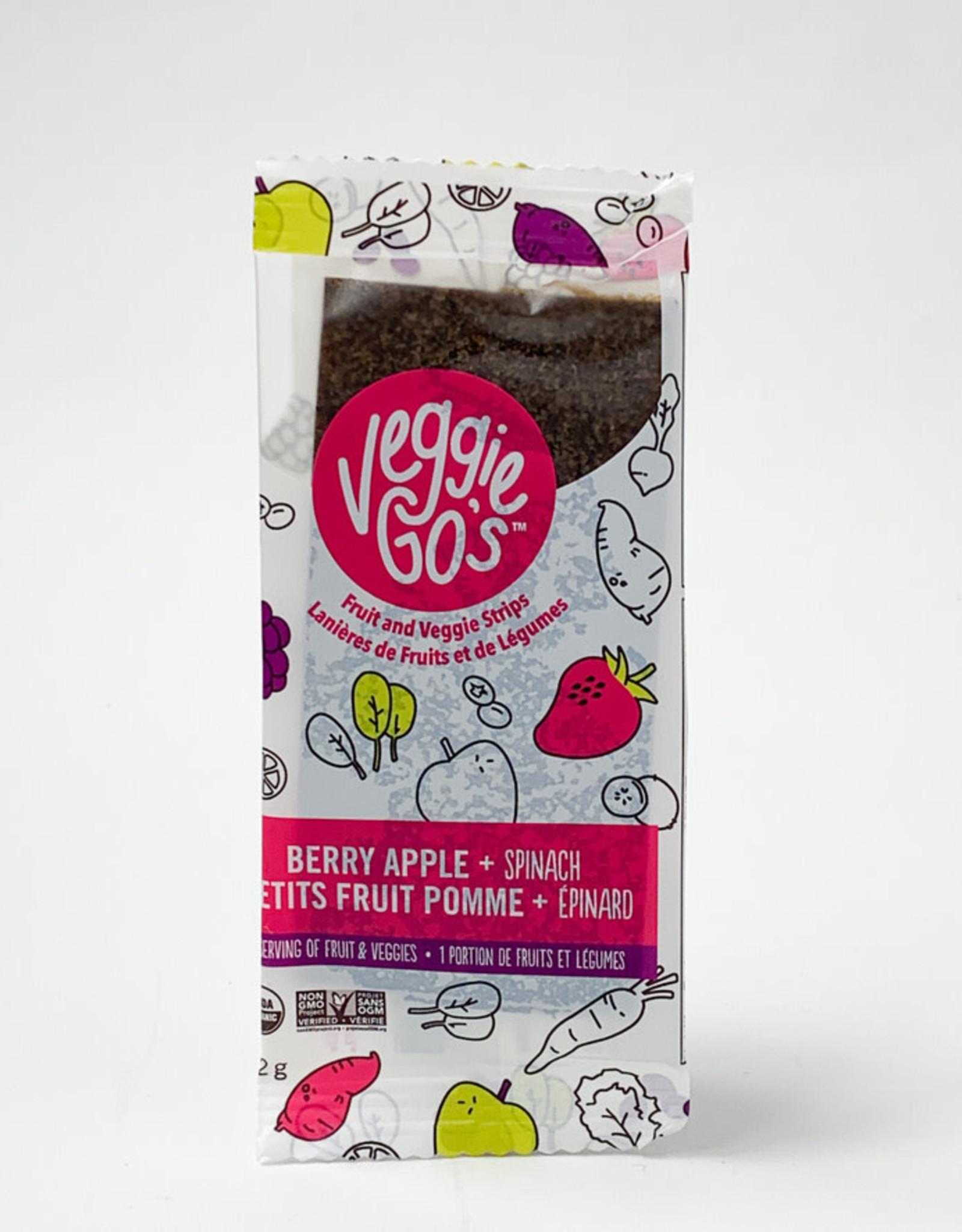 Veggie Gos Veggie Gos - Strips, Organic Berry Spinach and Apple Strips