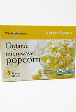 Whole Alternatives WA - Organic Microwave Popcorn - Butter (YELLOW)
