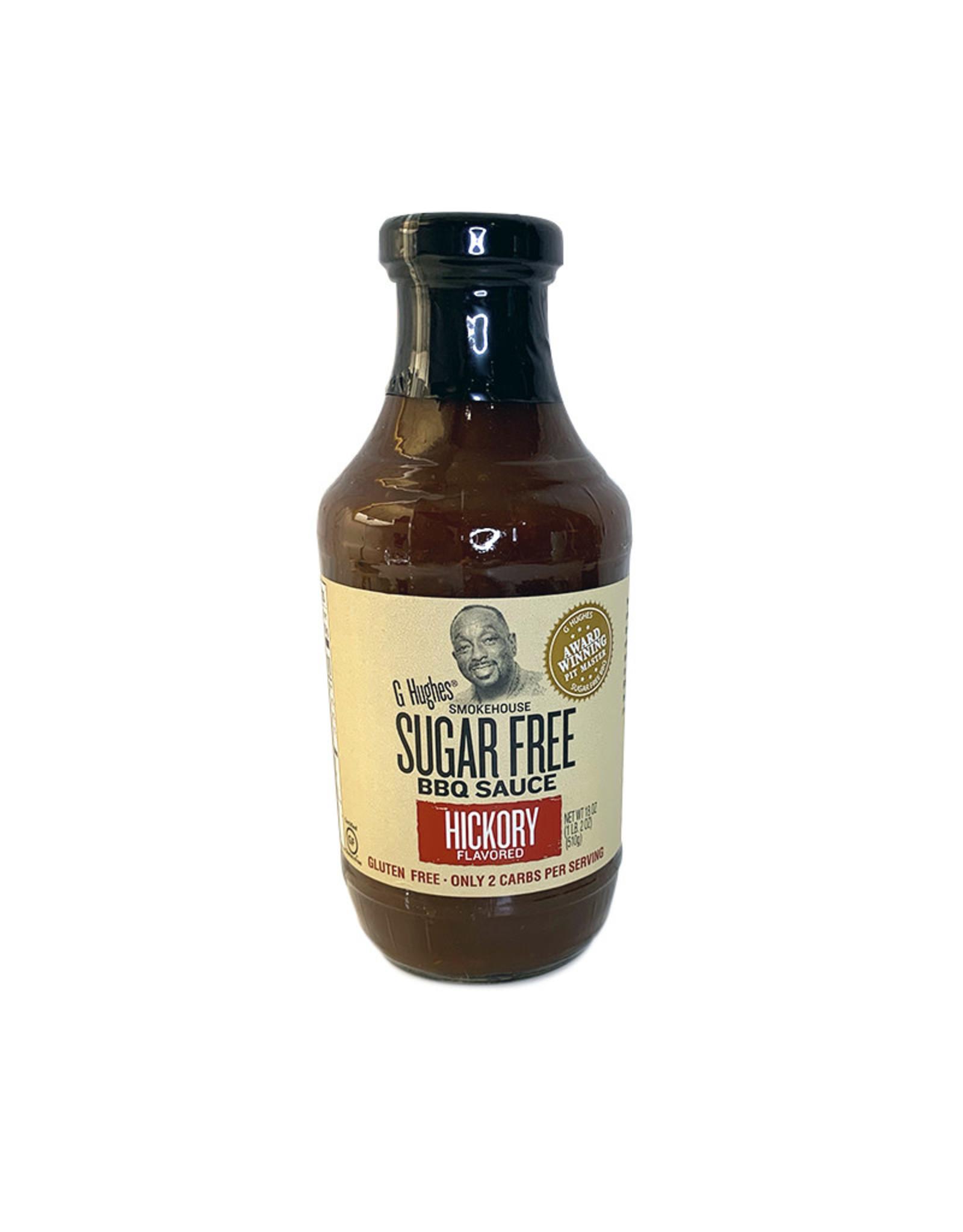 G. Hughes G. Hughes - Sugar Free BBQ Sauce, Hickory (510g)