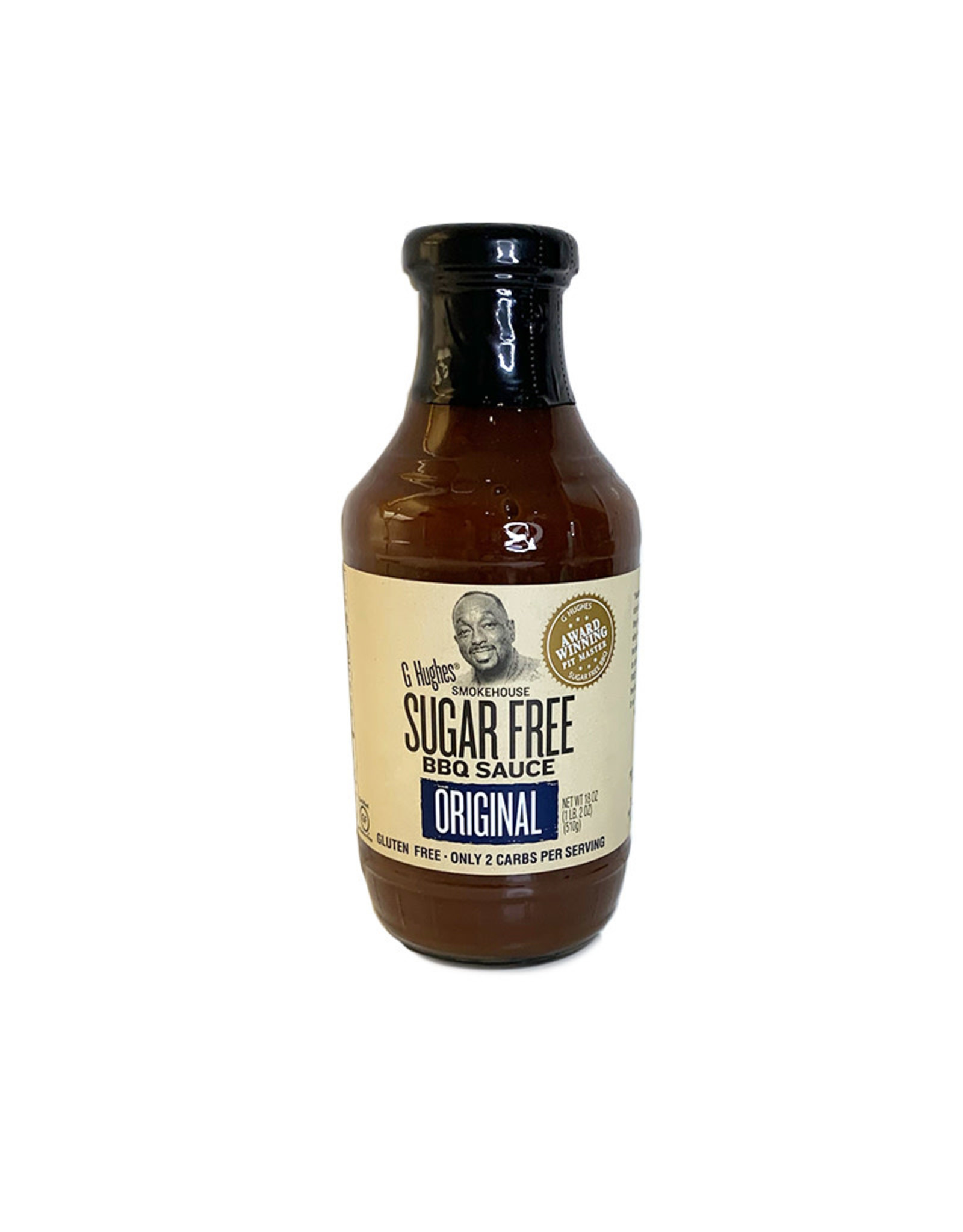 G. Hughes G. Hughes - Sugar Free BBQ Sauce, Original (510g)
