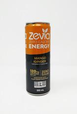 Zevia Soda Zevia - Energy Drink, Mango Ginger (355ml)