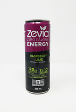 Zevia Soda Zevia - Energy Drink, Raspberry Lime (355ml)