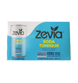 Zevia Soda Zevia - Mixer, Tonic Water (6pk)