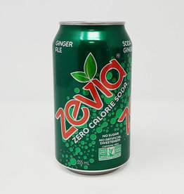Zevia Soda Zevia - Soda, Ginger Ale (355ml)