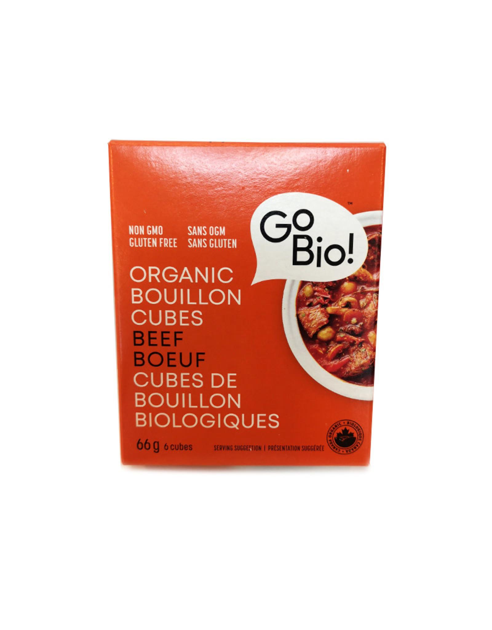 GoBio GoBio - Bouillon Cubes, Beef (66g)