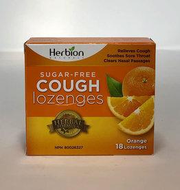 Herbion Naturals Herbion - Sugar Free Cough Lozenges, Orange