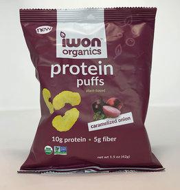 IWon Organics IWon Organics - Protein Puffs, Caramelized Onion (42g)