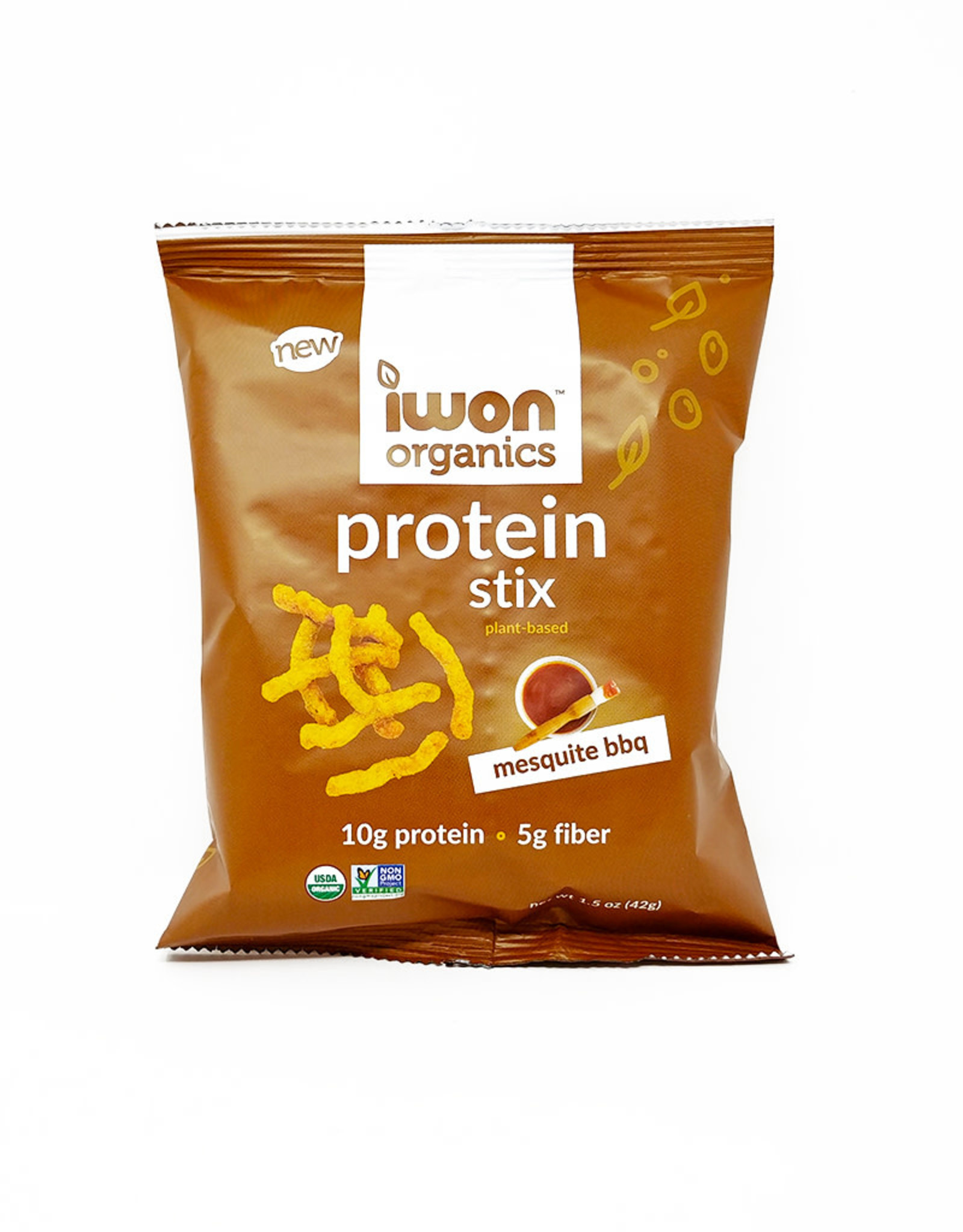 IWon Organics IWon Organics - Protein Stix, Mesquite BBQ (42g)