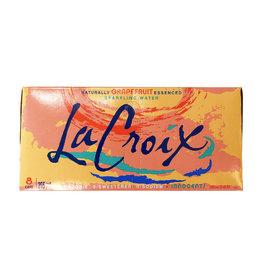 La Croix La Croix - Sparkling Water, Grapefruit (8 Pack)