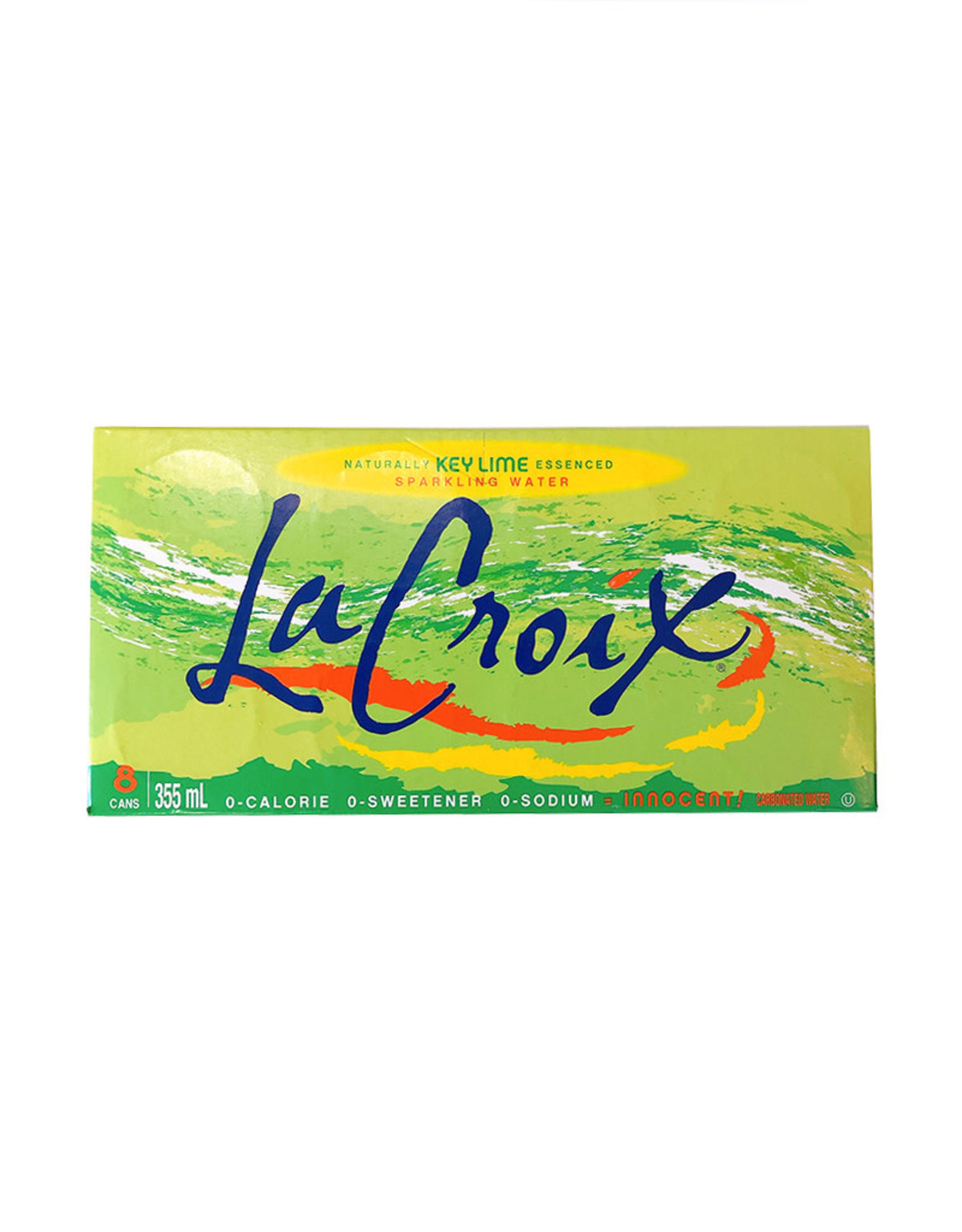 La Croix La Croix - Sparkling Water, Key Lime (8 Pack)