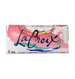 La Croix La Croix - Sparkling Water, Passion Fruit (8 Pack)