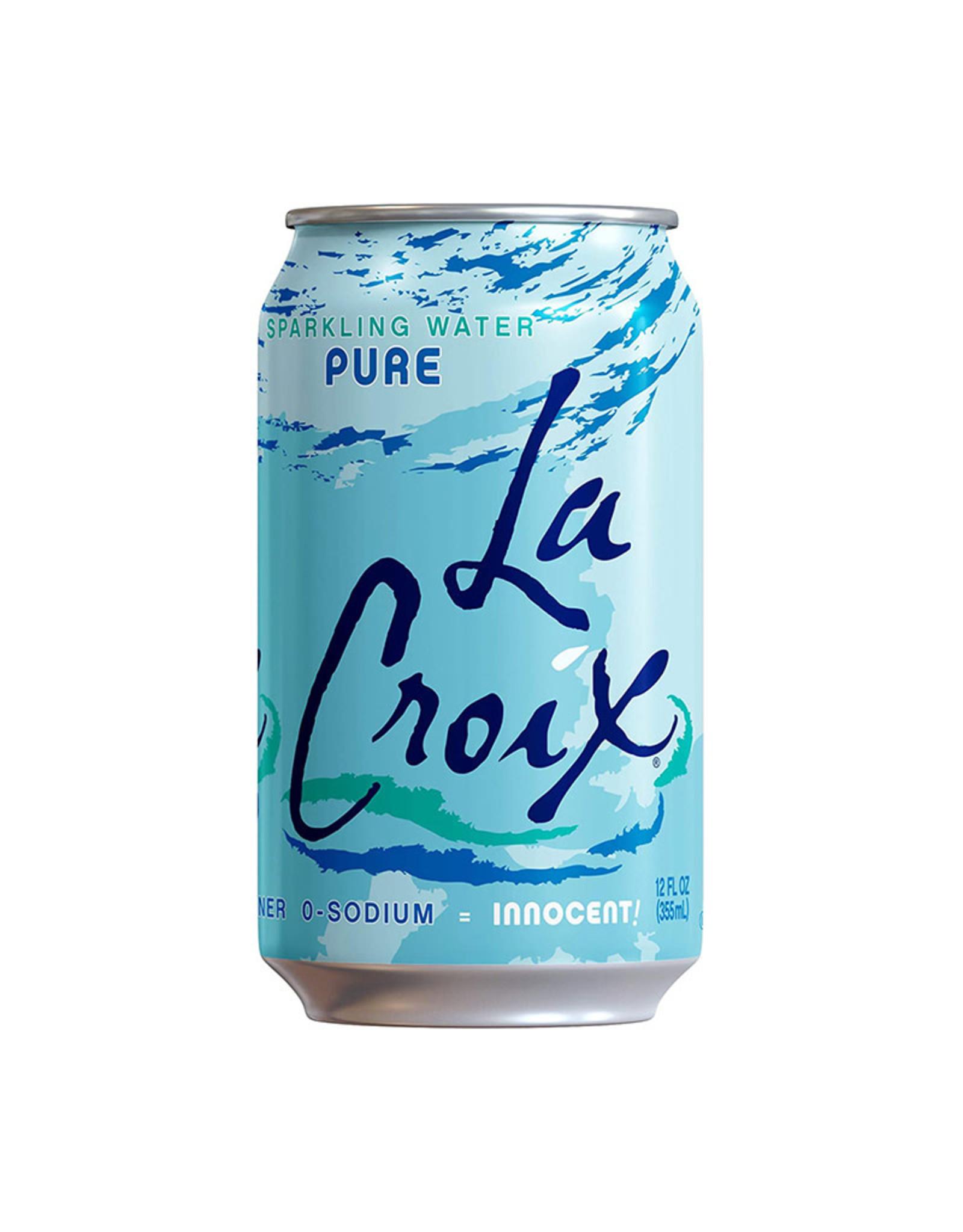 La Croix La Croix - Sparkling Water, Pure (Single)