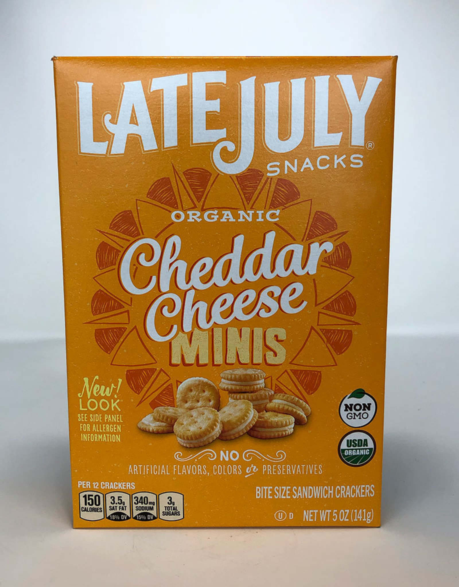 Late July Late July - Crackers, Bite Size Cheddar Cheese