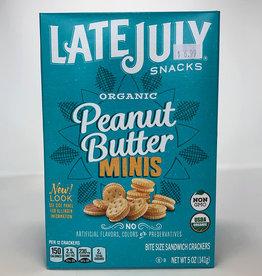 Late July Late July - Crackers, Mini Peanut Butter