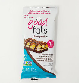 Love Good Fats Love Good Fats - Chewy-Nutty, Dark Chocolatey Sea Salt & Almond (40g)