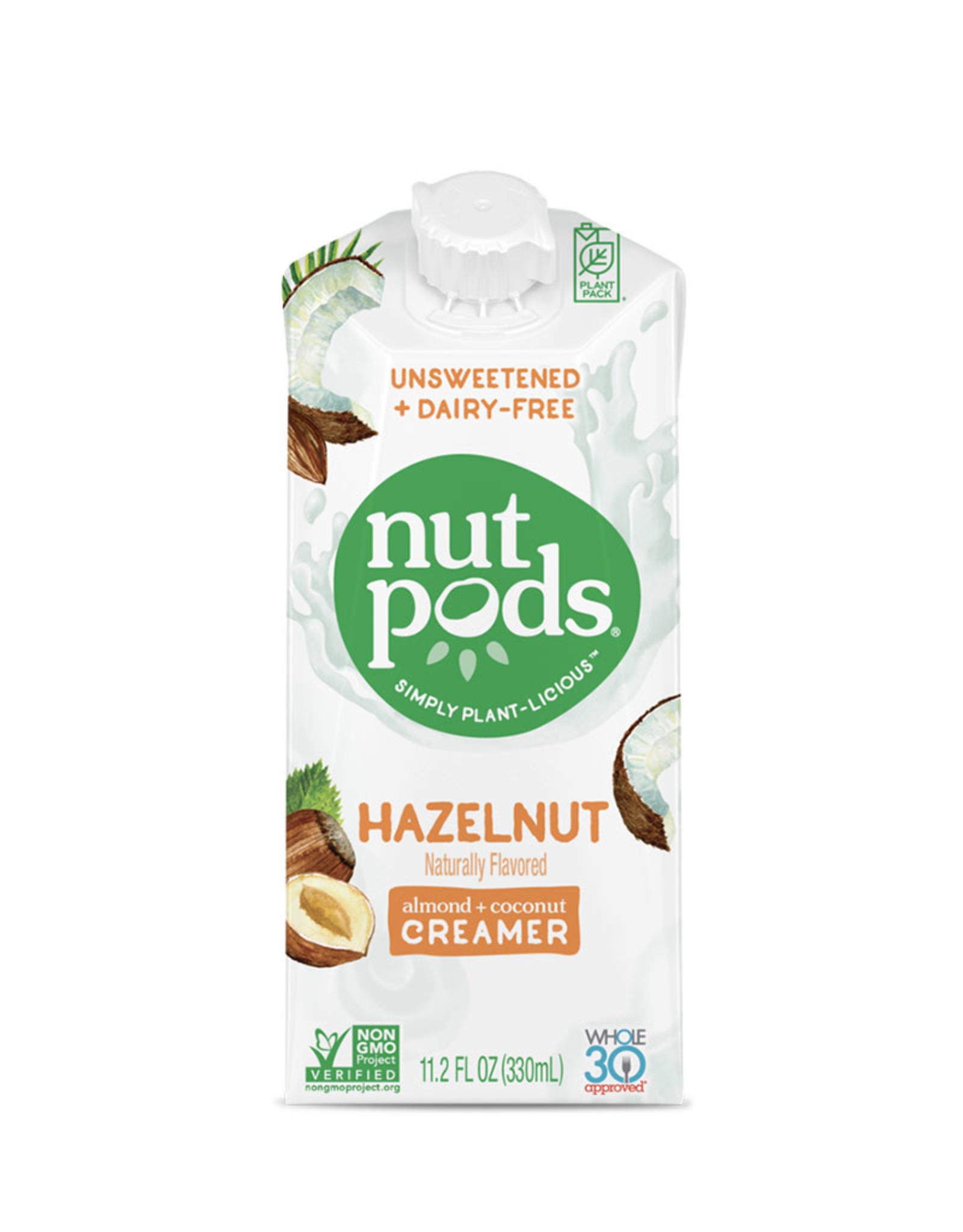 Nutpods Nutpods - Unsweetened Dairy-Free Creamer, Hazelnut (330ml)