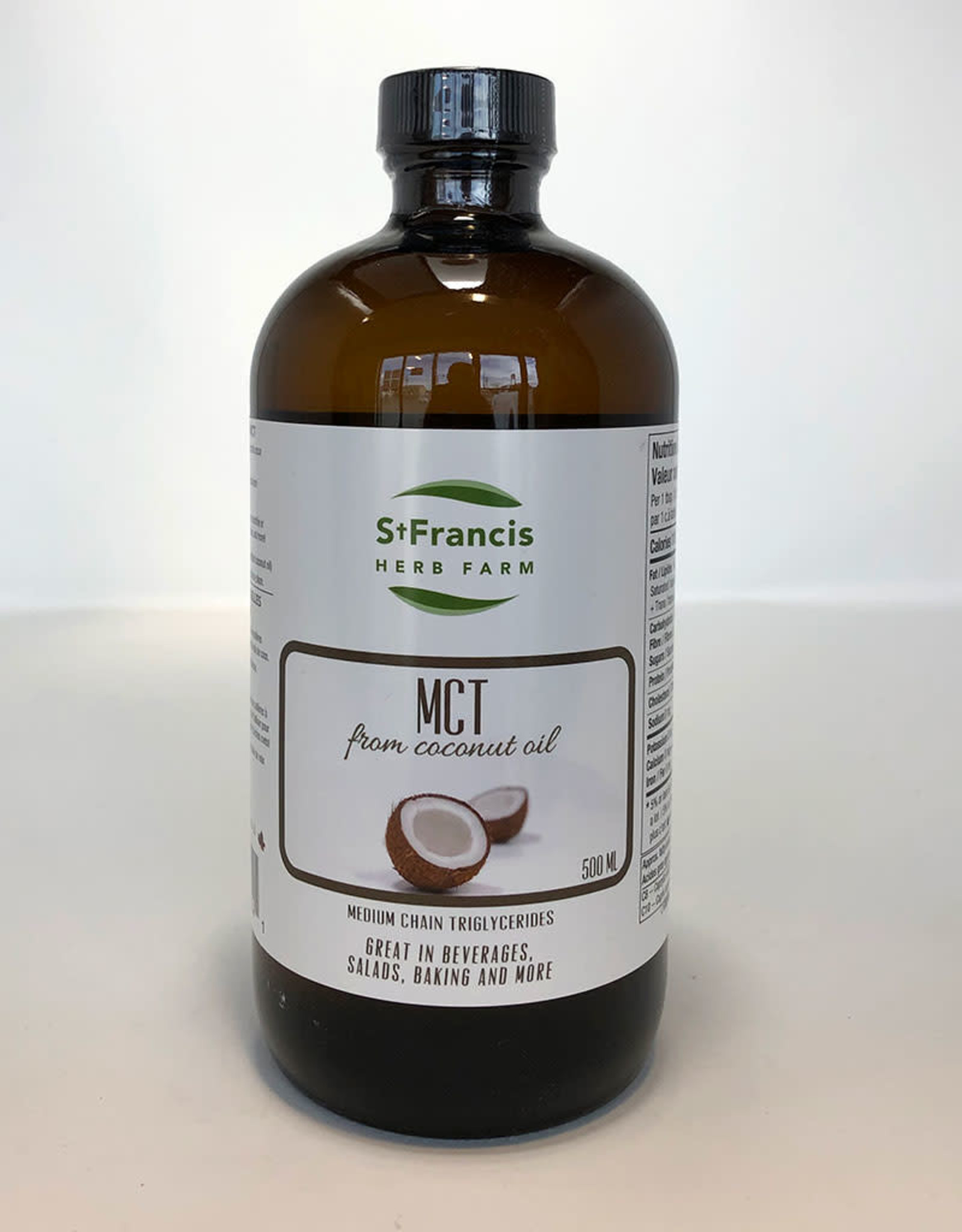 St. Francis Herb Farm St. Francis - Coconut Oil with MCT (500ml)