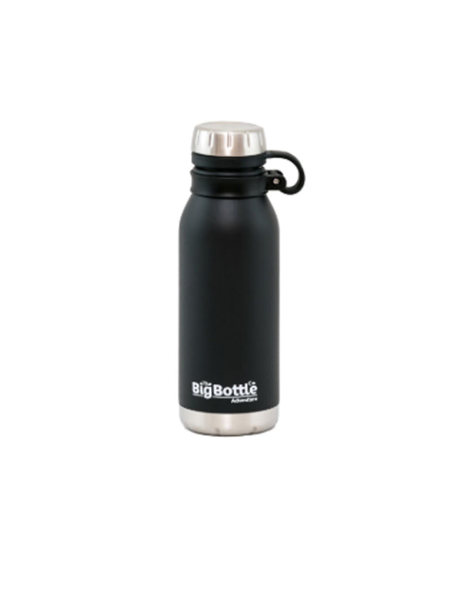 Big Bottle Co. Big Bottle Co. - Adventure Range, Jet Black Adventure (500ml)