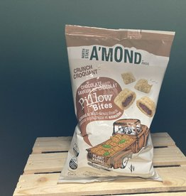 Amond AMond Snacks - Bites, Chocolate Pillow (142g)