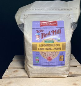 Bobs Red Mill Bobs Red Mill - GF Organic Rolled Oats, Regular (907g)