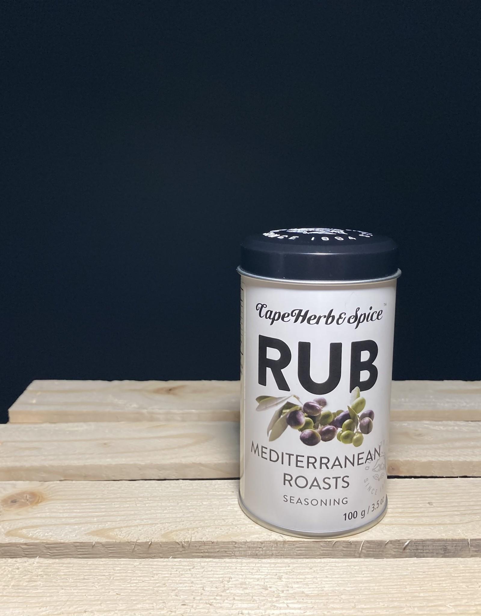 Cape Herb & Spice Co. Cape Herb & Spice - Rub Shaker, Mediterranean Roasts (100g)