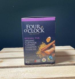 Four Oclock Four Oclock - Turmeric Cinnamon Tea