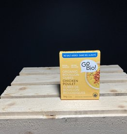 GoBio GoBio - Bouillon Cubes, No Salt Chicken (54g)