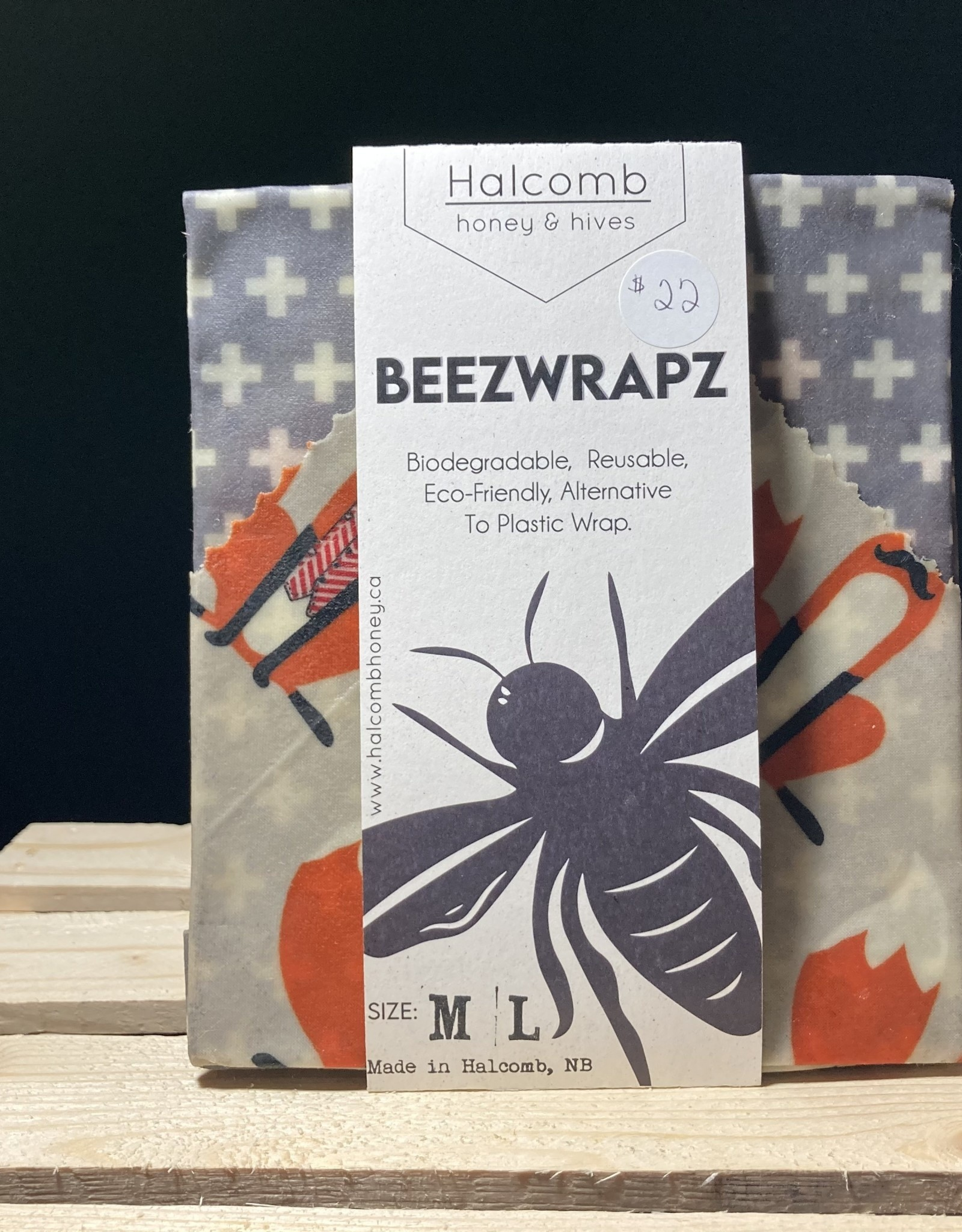 Halcomb Honey & Hives Halcomb Honey & Hives - Beezwrapz (M/L)
