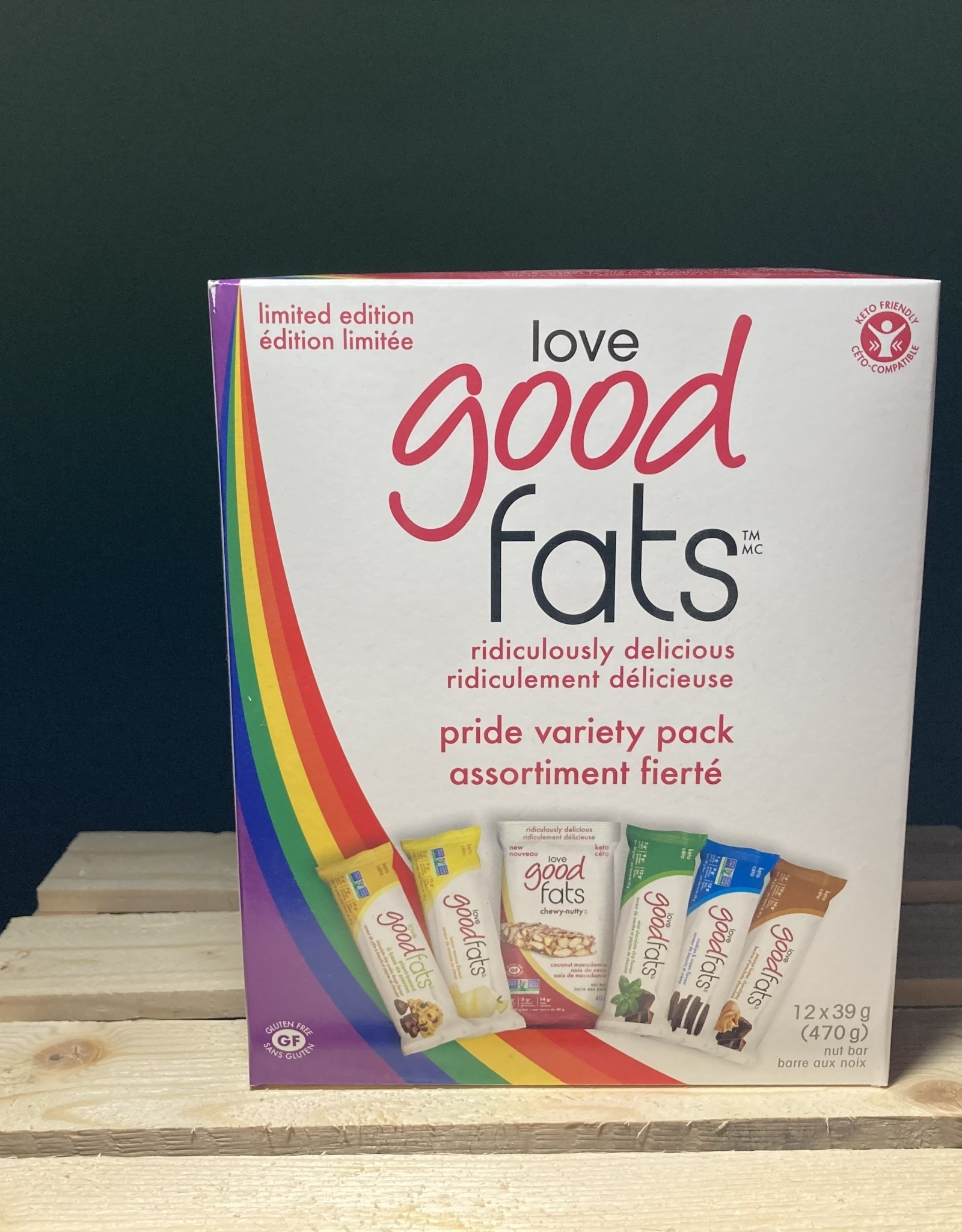 Love Good Fats Love Good Fats - Pride Variety Pack