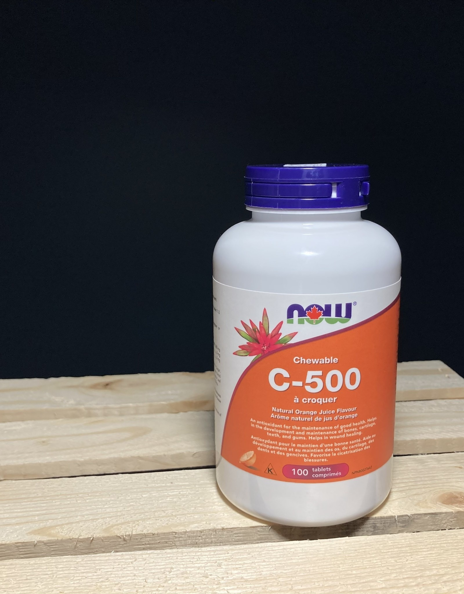 NOW Foods NOW Foods - C-500 Orange Chewable 100Loz