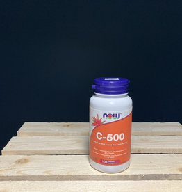 NOW Foods NOW Foods - C-500 with 40mg Rose Hips (citrus free) (100tab)