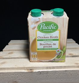 Pacific Foods Pacific Foods - Organic Broth, Low Sodium Chicken (4x236ml)