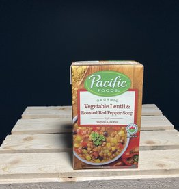 Pacific Foods Pacific Foods - Organic Soup, Veg Lentil & Roasted Red Pepper (472ml)